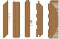 планкен прямой, планкен скошенный (ромб), имитация бруса, блок хаус