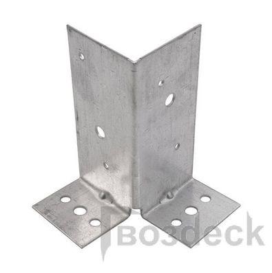 Крепежный уголок под 135 гр. 2 мм KUS 90x90x40 мм СибрТех 46453